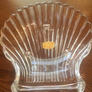 RARE! Handcut 24% Pbo Lead Crystal Candy Dish